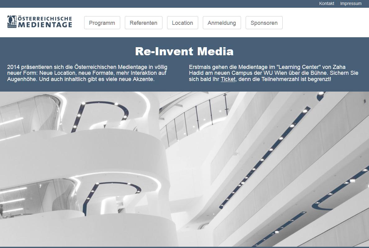 medientage web